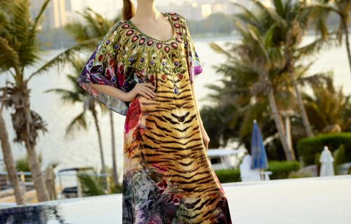 This summer, look elegant and intriguing in a silky piece from Kaprice Hong Kong