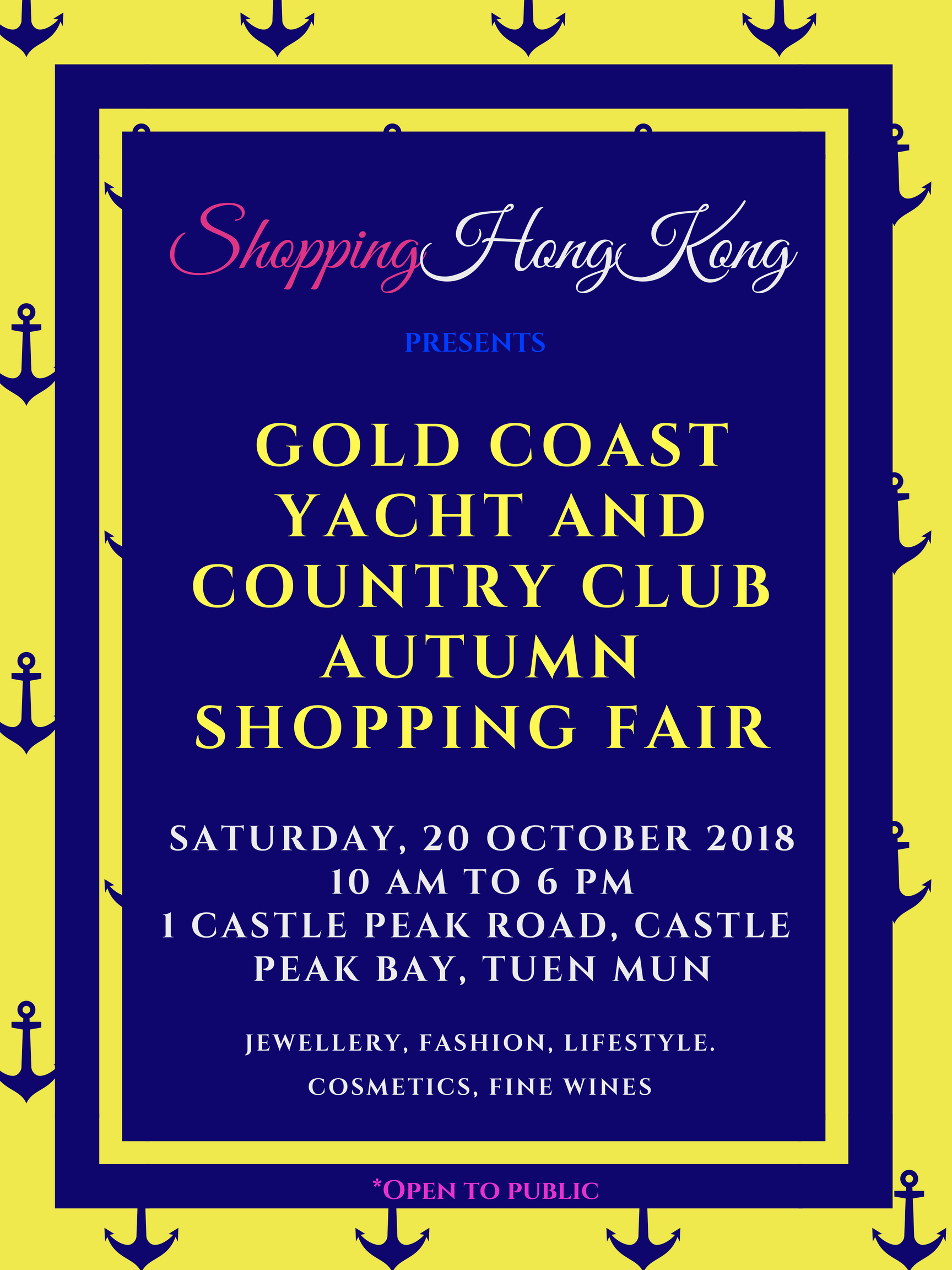 Shoppinghongkong goes to Gold Coast | ShoppingHongKong
