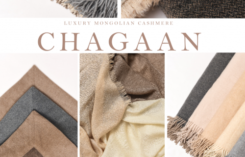Luxury cashmere brand Chagaan now available through SHK